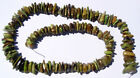 65 grams rare GASPEITE tumbled nice BEADS 16 inch strand NATURAL colored stone