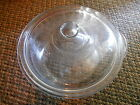 Old Vintage Fire King Covered Casserole Dish Bowl Cover Lid Blue Sapphire Decor