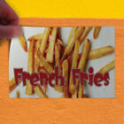 Decal Sticker French Fries 1 Style B Restaurant Food Outdoor Store Sign