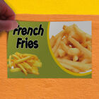Decal Sticker French Fries 1 Style C Restaurant Food Outdoor Store Sign