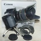 Canon EOS D60 + 28-135 EF Zoom 1:3.5-5.6 IS; all very nice & hood & accessories