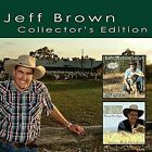 JEFF BROWN - COLLECTOR'S EDITION: MATE I'M FEELIN' LUCKY/HARVEST TIME AGAIN NEW