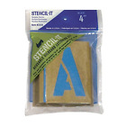 Alphabet Stencils Letter Numbers Templates Reusable 4 Inch For Airbrush Painting