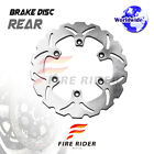 FRW 1x Front Brake Disc Rotor For SUZUKI VS 750 GL INTRUDER 85-86 85 86