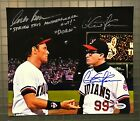 Charlie Sheen Signing Major League Autographs for 2014 Topps Archives Baseball 10