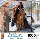 Native Portraits Early Snow 1000 Piece Jigsaw Puzzle New