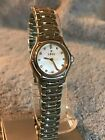 Ebel 1911 Quartz mother a Pearl dial w/diamond on dial S. Steel Ladies Watch