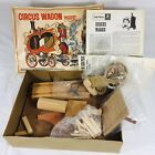 Craft Master Circus Wagon Wood Model #50127 Sealed Parts Vintage 1971