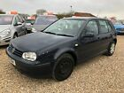 1999 v Volkswagon Golf 16 SE 5 Door Manual