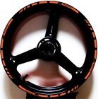 ORANGE BLACK GP STYLE CUSTOM RIM STRIPES WHEEL DECALS TAPE STICKERS KTM Racing