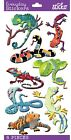 Sticko Scrapbooking Snakes Lizards Puffy Craft Stickers Reptiles Zoo