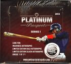 2013 ONYX AUTHENTICATED PLATINUM PROSPECTS SERIES 1 - BOX
