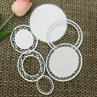 Lace Ring Cutting Die Embossing Stencil Art Scrapbook DIY Greeting Card Decor