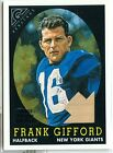 Frank Gifford Cards, Rookie Cards and Autographed Memorabilia Guide 15