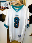Estate Rare Daunte Culppeper Miami Dolphins Hand Signed Size L Game Jersey