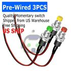 3PCS Micro Lockless Momentary On Off Push Button 12V 5A Switch Tact Assortment