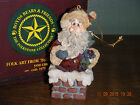 Boyds Bears 1995 ORNAMENT ~SLICKNICK IN THE CHIMNEY~  STYLE #2552