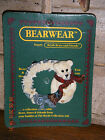 Boyds Bears 1997 ~ SNOWBEARY & THE SNOWFLAKES ~ BEARWEAR PIN STYLE #26007