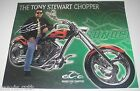 SPORTS Memorabilia Tony Stewart Sunoco/Orange County Chopper Postcard 2007