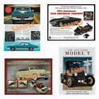Danbury Mint DIECAST Full-Color Adv. BROCHURES - Many Different Models, SEE LIST
