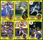 Rickey Henderson 1991 Kenner Starting Lineup card