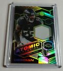 TERRELL SUGGS - 2018 PANINI OBSIDIAN - ATOMIC PATCH - GREEN - #3 10 - RAVENS -