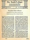 PRESIDENT-ELECT HERBERT HOOVER 1929 BIOGRAPHY by RAY LYMAN WILBUR of STANFORD