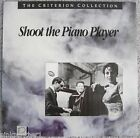 SHOOT the PIANO PLAYER Francois Truffaut Criterion 43 French English Laserdisc