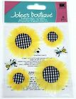 Jolees Floral Scrapbooking Stickers Sunflowers Bumble Bees Spring Flowers