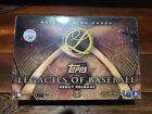2016 Topps Legacies of Baseball Debut Edition Factory Sealed Hobby Box