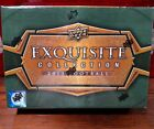 2013 Upper Deck Exquisite Collection Football Factory Sealed Hobby Box