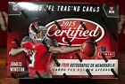 2015 Panini Certified Football Factory Sealed Hobby Box
