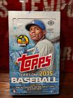 2015 Topps Series 1 Baseball Factory Sealed Hobby Box