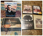 TV Mini Series DVD Lot The Winds of War + Civil War + Nuclear Family WWII + Y12