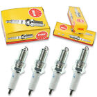 4pcs Cagiva ELEFANT 750 NGK Standard Spark Plugs 750 Kit Set Engine rd