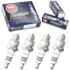 4pcs Jawa BABETTE ROBOT CEZETA NGK Iridium IX Spark Plugs 90 Kit Set Engine tx