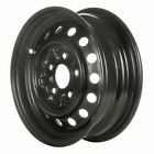 69321 Refinished Toyota Pickup 1992 1995 14 inch Black Steel Wheel Rim