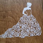 Rose Girl Lady Metal Cutting Dies Stencils For Scrapbooking Paper Cards DIY
