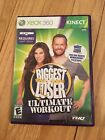 THE BIGGEST LOSER ULTIMATE WORKOUT XBOX 360 KINECT W MANUAL FREE S H V