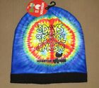 New Beanie Hat Woodstock Tie Dye Winter Soft Music Festival 1969 Peace 50 Years