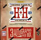 2013 PANINI HOME TOWN HEROES BASEBALL HOBBY 10 BOX CASE