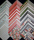 12x12 Scrapbook Paper DCWV Christmas Holiday Winter Snow What Fun Stack 60 Lot