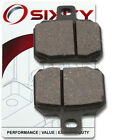 Rear Organic Brake Pads 2008 Ducati Desmosedici RR Set Full Kit D16RR 989cc do