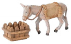 Fontanini Marys Donkey Animal Italian Nativity Village Figurine 3 Piece Set