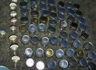 HUGE Lot 50 EMPTY Clean BABY FOOD Glass JAR w LID Gerber 25 NO LABEL FREE SHIP