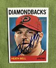2013 Topps Heritage Baseball Real One Autographs Visual Guide 70