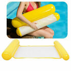 HOT Water Hammock Pool Lounge Bed Chair Inflatable Floating Swimming Bed USA