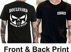 Suzuki Boulevard Motorcycle M109 C50 C90 BLACK T-Shirt Punisher (FB)