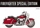 2008 HARLEY-DAVIDSON FIREFIGHTER FLHR ROAD KING & FLSTC SOFTAIL BROCHURE CARD