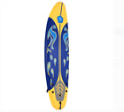 6ft Ocean Surfboard Body Surf Water Beach Boogie Paddle Board Leash Traction Pad